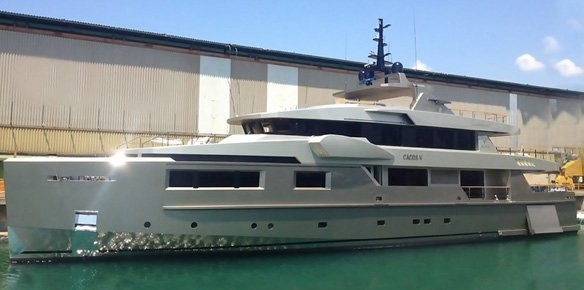 Cape4 Yachting & Admiral Launch Superyacht Cacos V