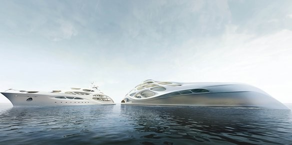 Zaha Hadid Designs Unique Superyachts For Blohm + Voss