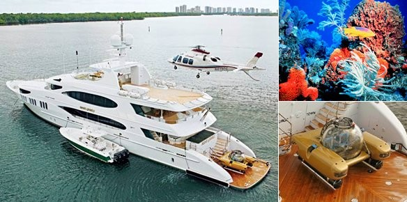 Mine Games for charter with submarine for   | superyachts com
