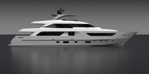 Sanlorenzo Sell First SD126 Motor Yacht