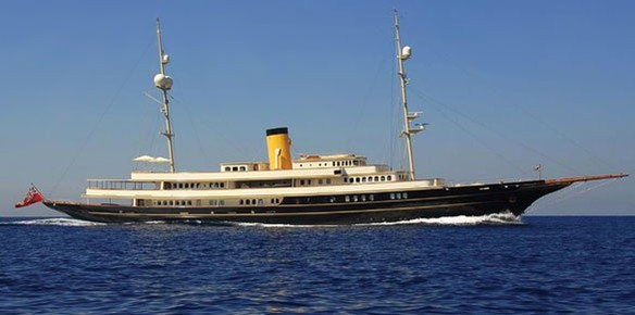 Superyacht Nero Sold By Merle Wood & Associates