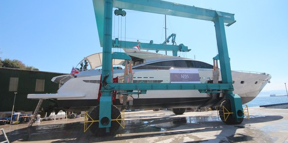 Motor Yacht Shenu Launched After Refit