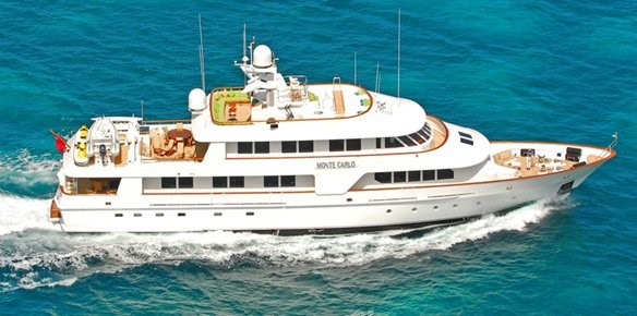 Superyacht Monte Carlo Is For Sale With YPI Brokerage And Northrop Johnson Built By Amels In 1988 The 4024m Yacht Still Fresh From A Multi Million