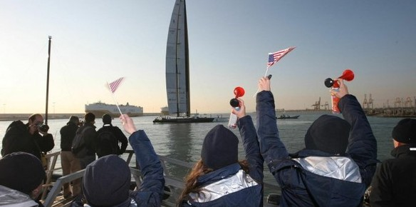 BMW Ocacle wins 33rd America's Cup in 2010