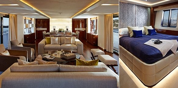 A look inside the new princess 40m 39 x5 39 for 40m apartment design