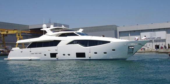 First Custom Line 108' Launched In La Spezia