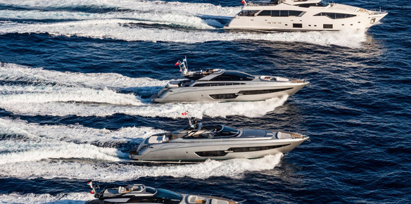 Ferretti Group Presents A 21 Craft Fleet At Cannes Yacht Show