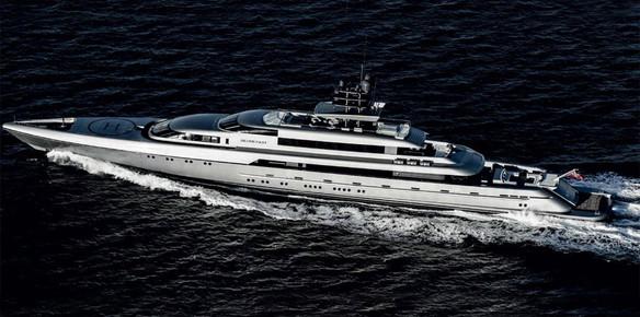 Superyacht Silver Fast