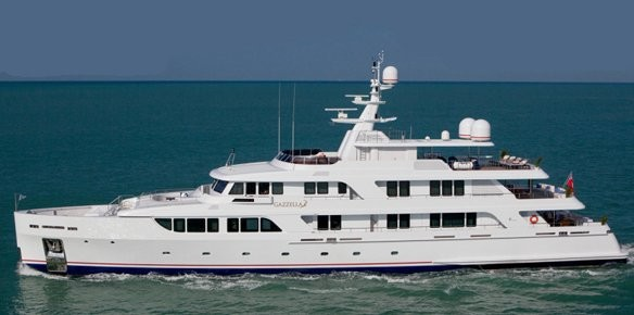 Codecasa Shipyards Release Images of M/Y Gazzella