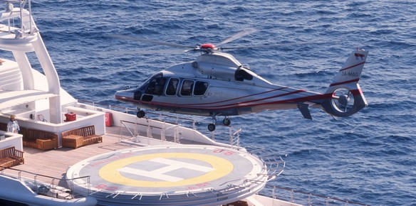 Stepping Off A Helicopter After Flying From Yacht To Shore Is Needless Say The Very Epitome Of Sophistication Innovators Airbus Are Nothing