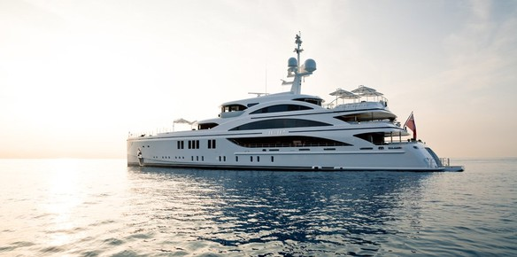 Superyacht 11.11: The Latest Delivery From Benetti (photos by Jeff Brown)