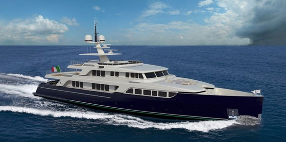 Codecasa Reveal Details Of New Vintage Series Yacht Hull F76
