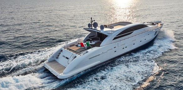 The Tecnomar motor yacht One O One