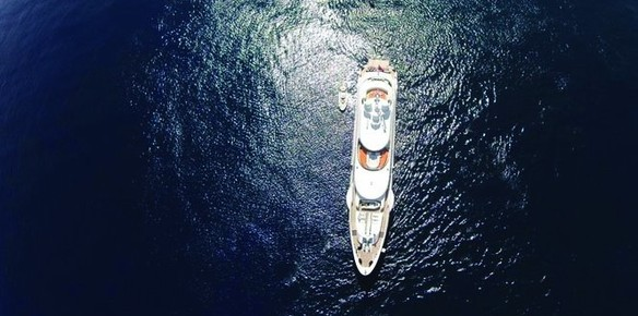 The 55m Heesen superyacht Serenity