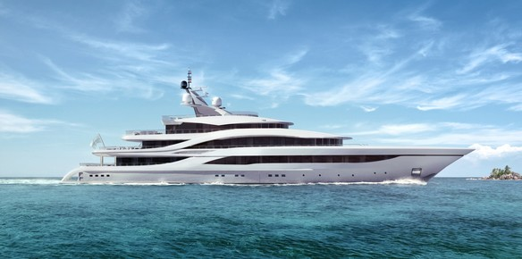 The 77 metre NB63 superyacht project