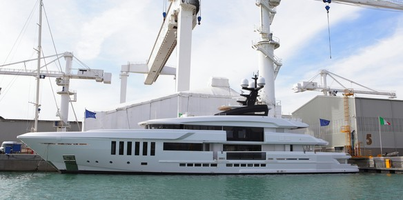 The new Admiral C Force 50 metre superyacht Ouranos