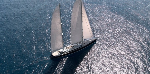 The 67m sailing yacht Vertigo now available for Summer charter in French Polynesia