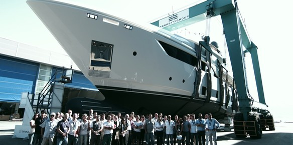 Ferretti Group Launches First Navetta 37 Superyacht