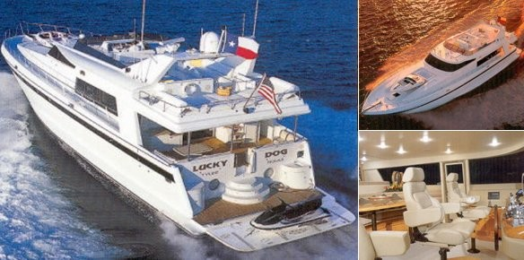 Luxury Superyacht Lucky Dog sold by IYC