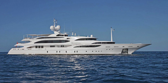 The 59m Benetti Superyacht Lady Luck
