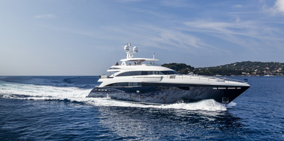 The 40M Princess Yacht - the flagship of the Princess fleet