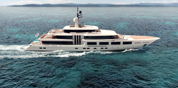 The 74-metre superyacht Barracuda