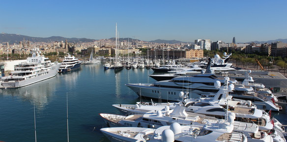 Barcelona on the Rise with 160m Superyacht Berth Sale