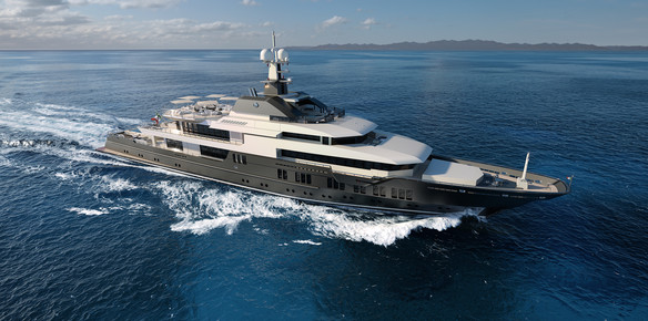 The rugged and sustainable 83m superyacht ready to take on the world
