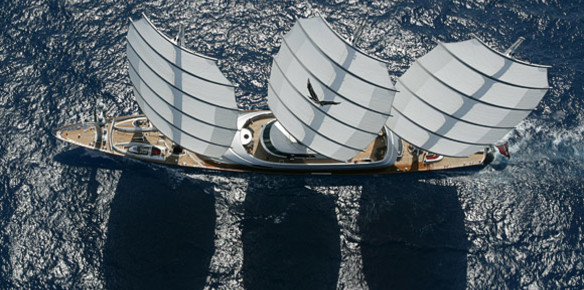 The Maltese Falcon, an icon of sailing by Perini Navi