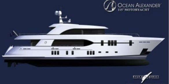 Ocean Alexander and Christensen Yachts unite for 115 project