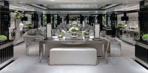 Superyacht Silver Angel: Gatsby Style for a New Era
