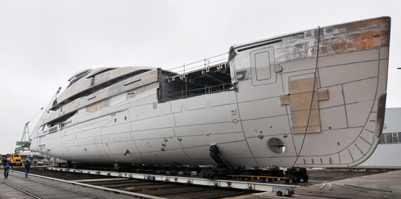 New Superyacht Leaves the Abeking & Rasmussen Yard
