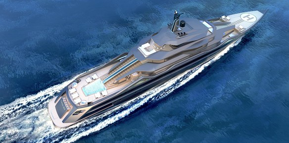 A New Design Concept from RC Designs and SuperYachts Monaco