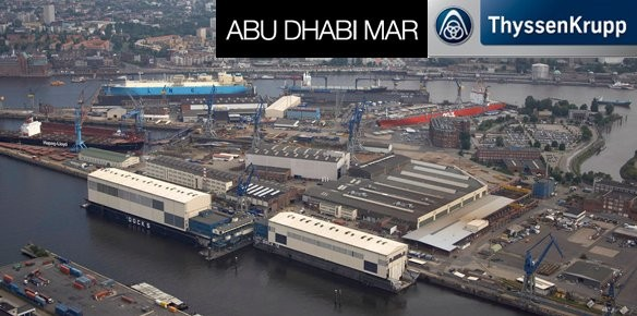 Abu Dhabi Mar And Thyssenkrupp Marine Systems