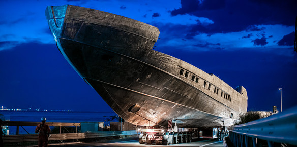 Pershing's First Superyacht Steps into the Spotight