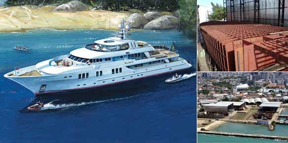 Motor Yacht Veronika II - The 135 Global Explorer from Inace Shipyard