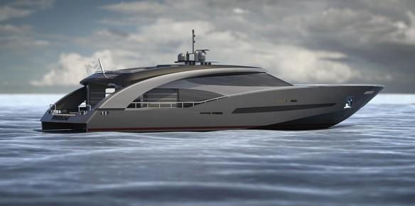 Sleek Sporty Spacious Roberto Cavllis 27 Metre Motor Yacht Freedom