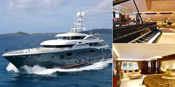 Lurssen Superyacht Kismet For Sale With Moran