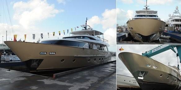 super moderne yacht