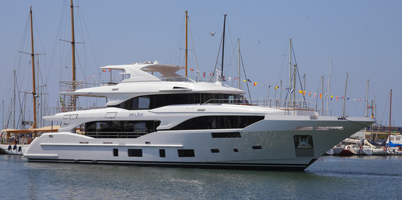 The latest addition to the Benetti fleet: BM002