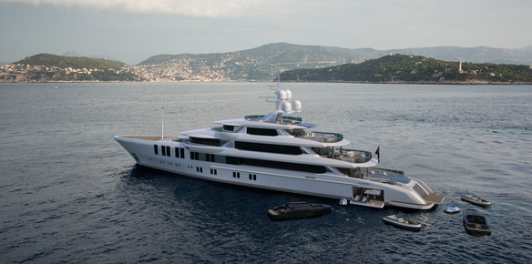The latest superyacht project from Turquoise Yachts