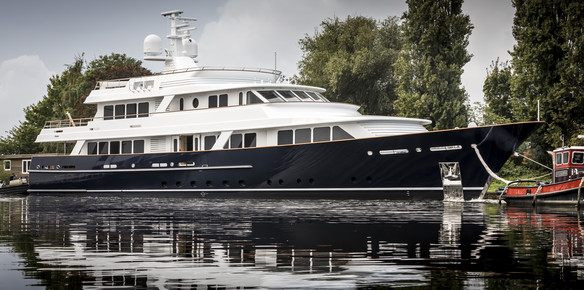 Project 679: The latest launch from Feadship bringing old school style to the water