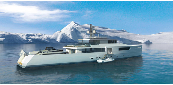 The 50-metre Expedition Scientific by Vitruvius Yachts