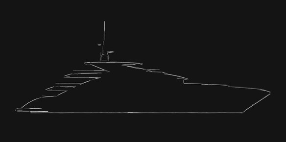 The brand-new 50-metre top secret superyacht project from ISA