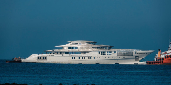 The 80-metre Project 263 superyacht from Bilgin now technically launched