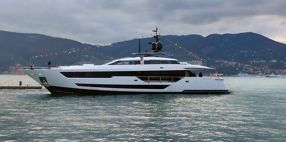 First Custom Line 120 Marks a New Era for Italian Style