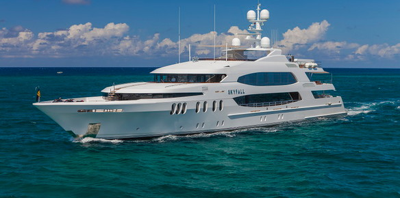 Skyfall Superyacht Sold
