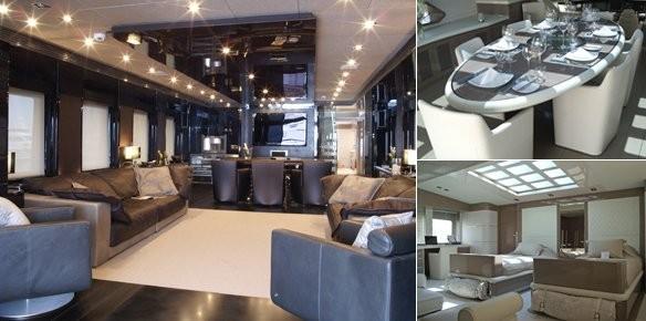 M Y Noor 39 S Stylish Interior By Hot Lab Yacht