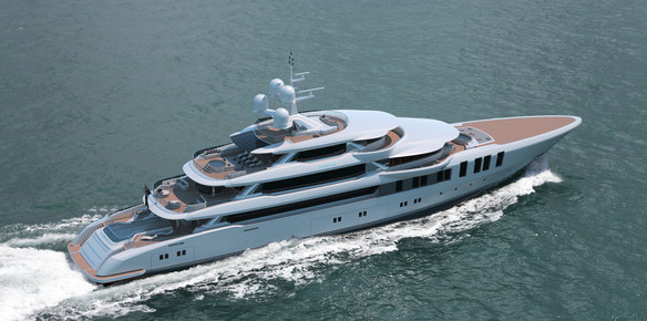 Picking up the Pace: Turquoise Yachts' 74M Update
