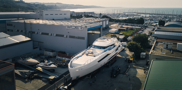 WIDER Yachts Launches the W165 Superyacht Cecilia